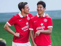 Nicolai Müller und Joo-Ho Park: Noch sind sie Teamkollegen. Aber wie lange noch?