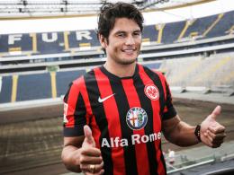 Zurück in der Bundesliga: Angreifer Nelson Valdez schließt sich Eintracht Frankfurt an.