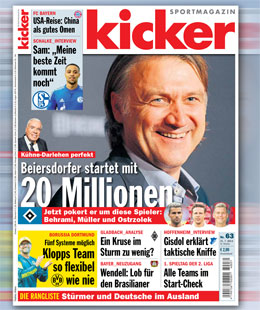 kicker, Ausgabe 63
