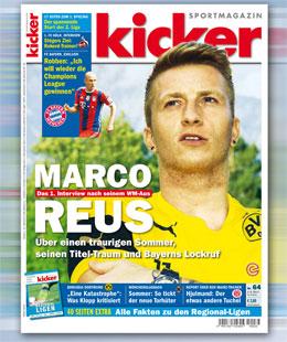 kicker, Ausgabe 64/2014