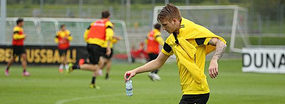 Er hat mit dem BVB große Ziele: Marco Reus.