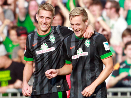 Felix Kroos und Nils Petersen