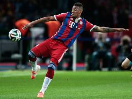 """""""Die Besten bleiben oben"""": Bayerns frisch gebackener Weltmeister Jerome Boateng."""