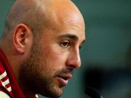 """Weiß, was auf ihn in München zukommt: José Manuel """"Pepe"""" Reina."""