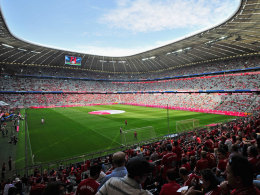 Die Arena des FC Bayern München