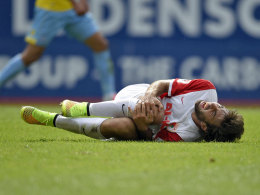 Leidenszeit verlängert: Jan Moravek fällt mit einem Kreuzbandriss mehrere Monate aus.