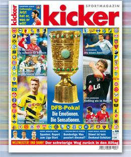 kicker, Ausgabe 68/2014