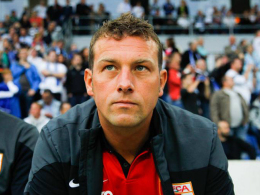 """""""Wenn wir wieder in der Liga bleiben, sind wir sehr zufrieden"""": Augsburgs Trainer Markus Weinzierl."""