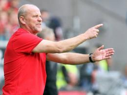 Dirigierte sein neues Team zu einem umk�mpften Sieg gegen Freiburg: Thomas Schaaf.