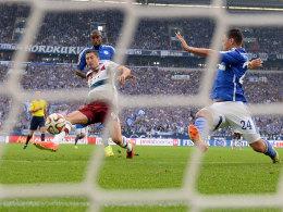 Bayerns Lewandowskis Tor reichte nicht für drei Punkte auf schalke.
