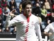 Auf der Mainzer Liste: Rechtsau�en Jairo vom FC Sevilla.