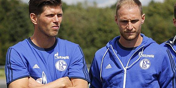 Klaas Jan Huntelaar (li.) und Benedikt H�wedes