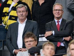 Starkes Duo in München: Karl Hopfner und Karl-Heinz Rummenigge (re.).