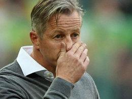 Sieht wieder so aus wie im vergangenen Jahr: Schalke-Coach Jens Keller.