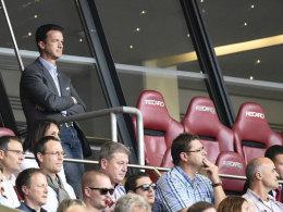 Fredi Bobic beim Heimspiel gegen Hoffenheim (0:2)