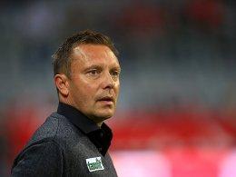 Nach dem Spiel ist vor der Wiesn: André Breitenreiter.