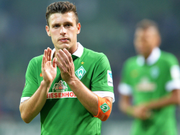 """""""Jetzt sind wir wieder da, wo wir nicht hinwollten"""": Werders Ersatzkapitän Zlatko Junuzovic."""