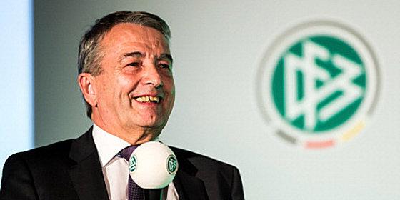 """Die neue DFB-Zentrale sei """"ein wesentlicher Entwicklungsschritt"""": DFB-Pr�sident Wolfgang Niersbach."""