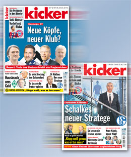 Die kicker-Topthemen, Ausgabe 83