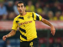 Die Startelf winkt: Dortmunds Rückkehrer Henrikh Mkhitaryan.