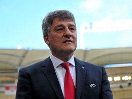 VfB-Präsident Bernd Wahler