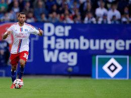Ashton G�tz im HSV-Heimspiel gegen Hoffenheim (1:1)