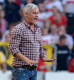 Wiedersehen mit der Eintracht: Armin Veh gastiert mit dem VfB in Frankfurt.