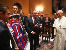Der FC Bayern besucht Papst Franziskus