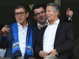 SCP-Vizepräsident Josef Ellebracht (links)