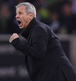 Kann wieder auf Christoph Kramer bauen: Gladbachs Coach Lucien Favre.