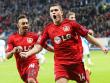 Rechtzeitig zum Spiel gegen den Ex-Klub wieder fit: Leverkusens Kyriakos Papadopoulos. Links Karim Bellarabi.