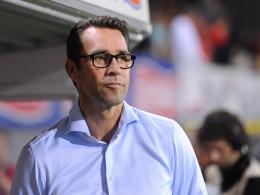 """""""In Paderborn brauchen wir einen komplett anderen Auftritt"""": Michael Preetz fordert nach dem Pokal-Aus eine Reaktion."""
