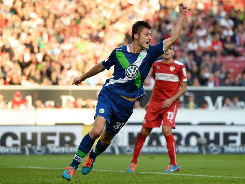 Wolfsburgs Lauf Knoche bleibt auf dem Teppich