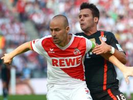 Könnte von der Verletztenmisere profitieren: Kölns Kapitän Miso Brecko, hier links gegen Bayerns Bernat.