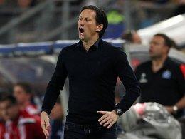 Derzeit ständig unter Strom: Bayer-Trainer Roger Schmidt.