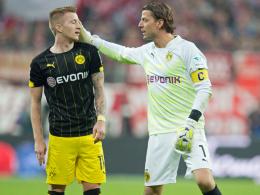 Drohen gegen Gladbach auszufallen: Marco Reus und Roman Weidenfeller.
