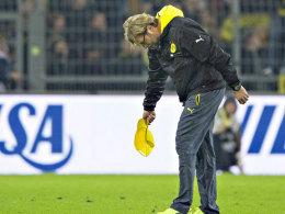 Zieht den Hut vor der Dortmunder Anhängerschaft: BVB-Coach Jürgen Klopp.