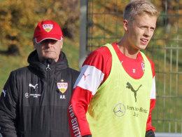 Bleibt im Blick von VfB-Coach Armin Veh: Timo Baumgartl.
