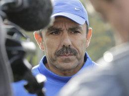 Steht angesichts des Negativtrends im Fokus: Hertha-Trainer Jos Luhukay.