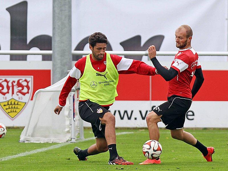 Karim Haggui und Konstantin Rausch