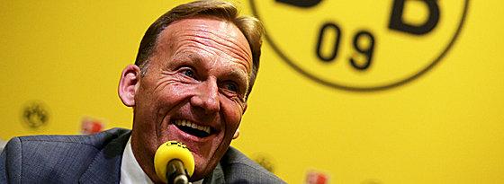 Hat gut Lachen: BVB-Boss Hans-Joachim Watzke.