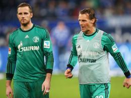 Nummer zwei hinter Ralf Fährmann? Christian Wetklo (re.) kämpft um den Platz des Ersatztorhüters auf Schalke.