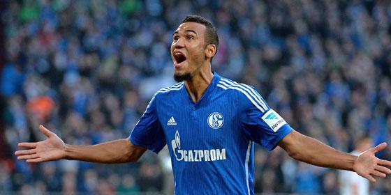 Drehte m�chtig auf f�r Schalke: Choupo-Moting.