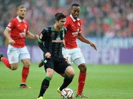 Zeigte auf der Zehn noch die besten Ansätze: Werder-Neuzugang Fin Bartels.
