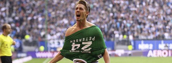 Jubelt gerne gegen den HSV: Bremens Stürmer Nils Petersen.