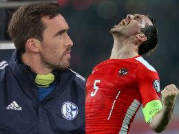 Neidischer (Selbst-)Blick: Christian Fuchs würde sich gerne häufiger bei Schalke so sehen wie beim ÖFB.
