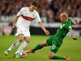 LIVE!-Bilder: VfB vs. FCA - Brisantes Nordderby