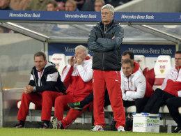 Nahm seinen Hut: Armin Veh gab sein Amt als Cheftrainer beim VfB Stuttgart auf.