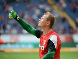 Er wird gegen den HSV zwischen den Pfosten stehen: Alexander Manninger.