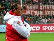 4:1-Comeback-Erfolg beim Derby in Freiburg: VfB-Trainer Huub Stevens.
